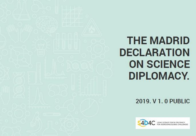 Madrid declaration on science diplomacy published