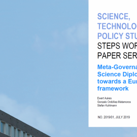 First version of a science diplomacy governance framework developed in S4D4C published by the University of Twente