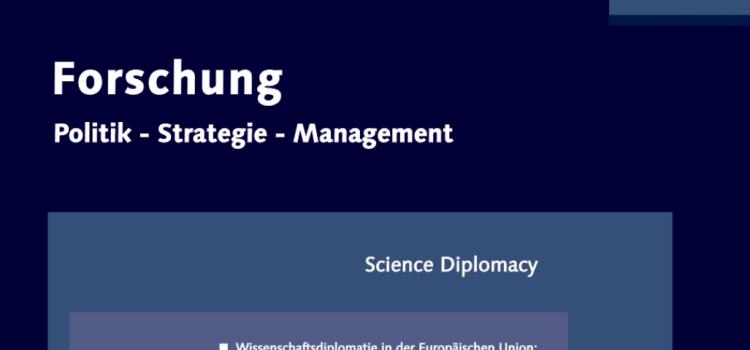 "Ewert Aukes, Stefan Kuhlmann and Tim Flink from S4D4C with new articles in journal ""Forschung: Politik-Strategie-Management"""