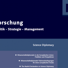 """S4D4C research on science diplomacy reflected in articles in """"Forschung: Politik-Strategie-Management"""""""