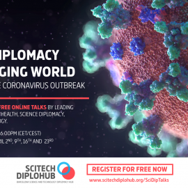Science diplomacy in times of COVID-19: S4D4C joins online webinar series organised by SciTech DiploHub Barcelona