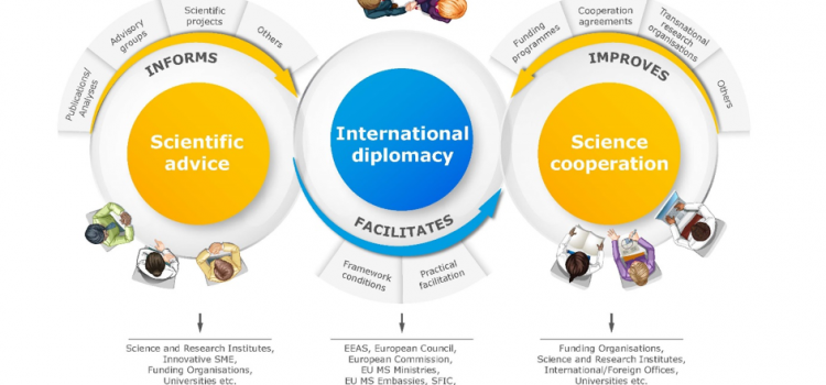 """S4D4C online lecture """"Science Diplomacy in the Making"""""""