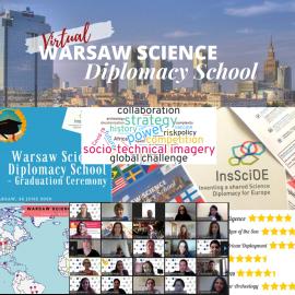 InsSciDE's Warsaw Science Diplomacy School June 2020
