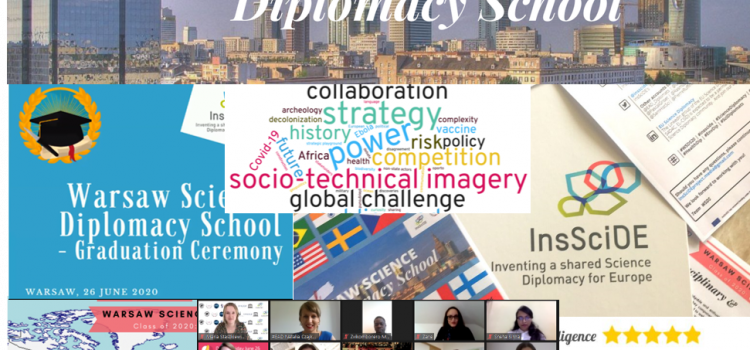 InsSciDE's Warsaw Science Diplomacy School June 2020