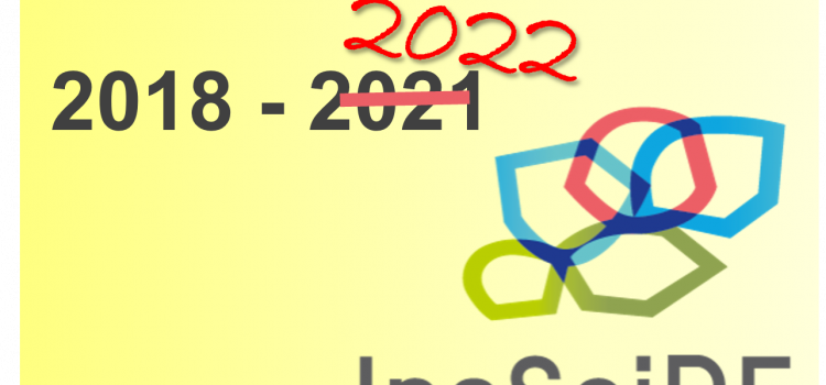 InsSciDE project gets extended to June 2022!