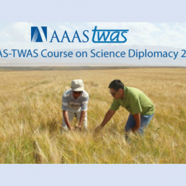Recounting the 2021 AAAS-TWAS Science Diplomacy Course